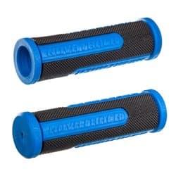 Грипсы Novatrack 110мм Чернo-синий Х76790