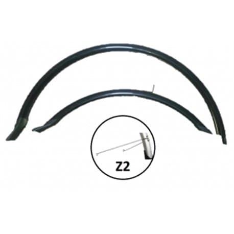 """Крылья вело VS комплект HN 12 (28"""") black 28"""" черный"""