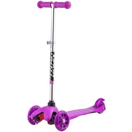 Самокат-кикборд NOVATRACK Disco-kids, детский, max 25кг, колеса 120*90, фиолетовый