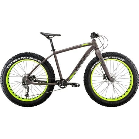 "26"" WELT FAT Freedom 2.0 19"" matt grey/green 2019"