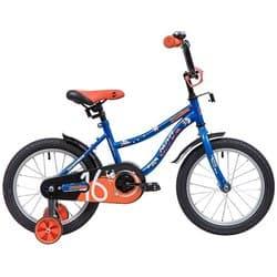 """Велосипед 16"""" NOVATRACK NEPTUNE Синий"""