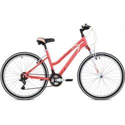 """Велосипед 26"""" STINGER LAGUNA 17"""" 18 скоростей, Розовый"""