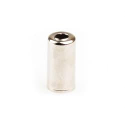 Наконечник рубашки тормоза 5 мм алюм. серебро