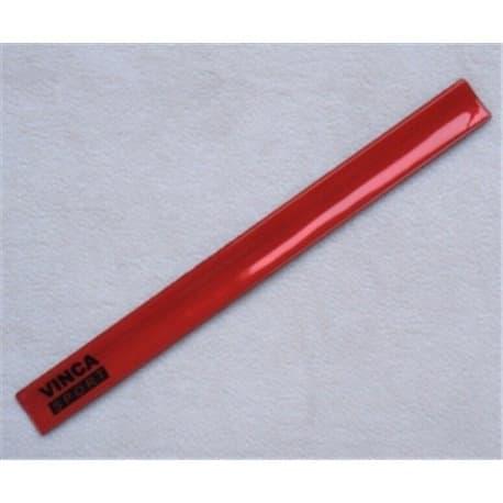 Светоотражающий браслет 38*400мм красный RA 132-5