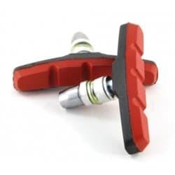 Колодки тормозные VINCA VB 970 black/red (70мм)