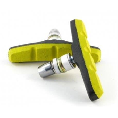 Колодки тормозные VINCA VB 970 black/yellow (70мм)