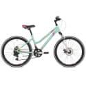 """Велосипед 24"""" STINGER LAGUNA D 12"""" 12 скоростей, Зеленый"""