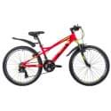 """Велосипед 24"""" NOVATRACK TORNADO 13"""" 21 скор., Алюм., Красный"""