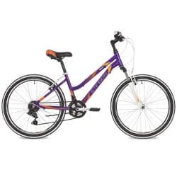 """Велосипед 24"""" STINGER LAGUNA 12"""" 12 скоростей, Фиолетовый"""