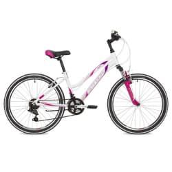 """Велосипед 24"""" STINGER LAGUNA 12"""" 12 скор. Белый"""