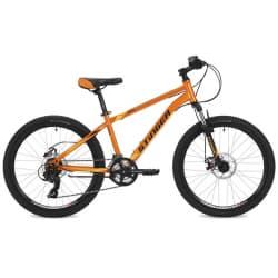 """Велосипед 24"""" STINGER ARAGON 12,5"""" 14 скоростей, Оранжевый"""