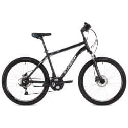 """Велосипед 26"""" STINGER ELEMENT HD 18"""" 18 скоростей, Алюм. Черный"""