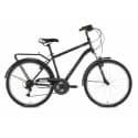 """Велосипед 26"""" STINGER TRAFFIC 18"""" 18 скоростей, Сталь Серый"""