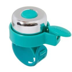 Звонок STG 11LD-04 серебр/голубой силик. хомут Х95341