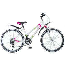 """Велосипед 24"""" STINGER LATINA 14"""" 12 скоростей, Белый"""