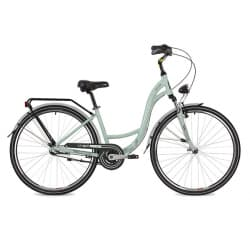 """Велосипед 28"""" STINGER BARCELONA STD 17"""" 3 скорости, Зеленый"""