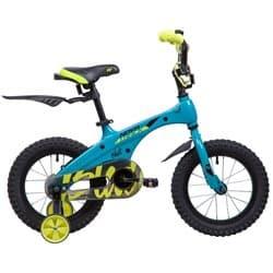 """Велосипед 14"""" NOVATRACK BLAST Алюминиевая рама, Бирюзовый"""