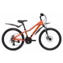 """Велосипед 24"""" STARK Rocket 24.3 HD оранжевый/чёрный"""