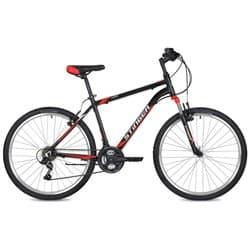 """Велосипед 26"""" STINGER ELEMENT 18"""" 18 скоростей, Алюм. Черный"""