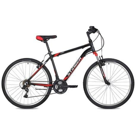 """Велосипед 26"""" STINGER ELEMENT 18"""" 18 скор. Алюм. Черный"""