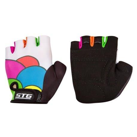 Перчатки вело STG детские Candy XS Х95308-ХС