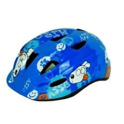 Шлем велосипедный М09 Asso Голубой