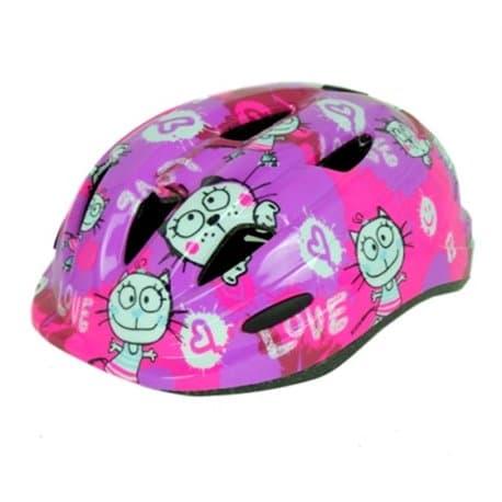 Шлем велосипедный М09 Love Розовый