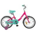 """Велосипед 16"""" NOVATRACK ANCONA алюминиевый Розовый"""