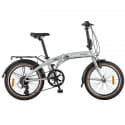 """Велосипед 20"""" NOVATRACK Складной TG-20 Алюм. Серебристый"""