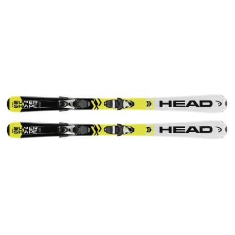 Лыжи HEAD Supershape Team SLR2 67 + LRX 4.5 AC