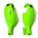 Гарды слаломные F2 handguards green