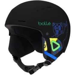 Шлем BOLLE QUIZ 31771 Matte Black Bear 52-55