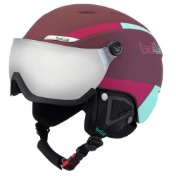Шлем BOLLE B-YOND VISOR 31489 Cherry Mint with Silver Gun visor Cat 3 54-58