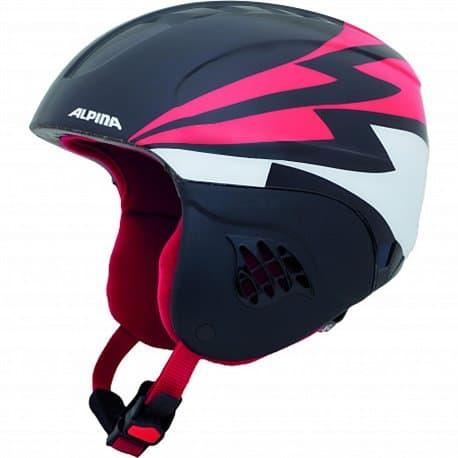 Шлем ALPINA Carat Black-red 51-55