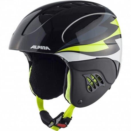 Шлем ALPINA Carat Charcoal Neon Yellow 54-58