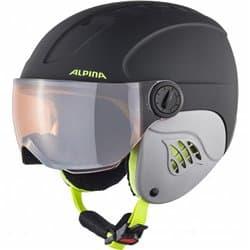 Шлем ALPINA Carat LE Visor HM Charcoal Neon Matt 54-58
