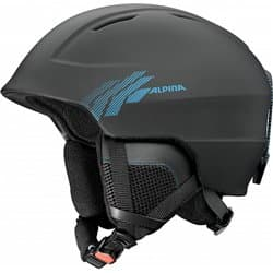 Шлем ALPINA Chute Black Cyan matt 58-61