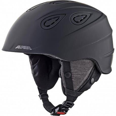 Шлем ALPINA Grap 2.0 LE Black Matt 57-61