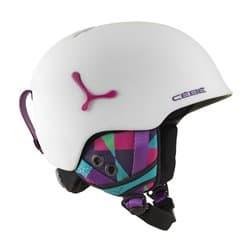 Шлем CEBE Suspense CBH189 Deluxe Matte White Graphics 56-58