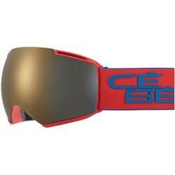 Очки CEBE ICONE Mat Red Blue Dark Smoke Flash Gold Cat.3 - Amber Flash Mirror Cat.1