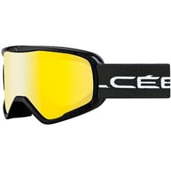 Очки CEBE STRIKER Black Stripes Yellow Flash Mirror L Cat.1
