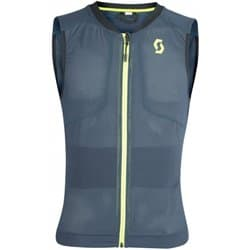 Защита спины SCOTT AirFlex Jr Vest Protector blue nights/lime yellow Р:XS