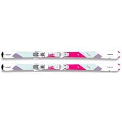 Горные лыжи HEAD® Easy Joy white/pink (17/18) 156 с креплениями SLR9