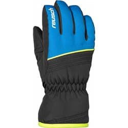 Перчатки REUSCH JR Alan black/brilliant blue P:6.5