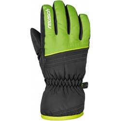 Перчатки REUSCH JR Alan black/neon green P:6