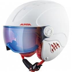 Шлем ALPINA Carat LE Visor HM White Flamingo Matt 54-58