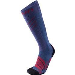 Носки UYN MS SKI COMFORT FIT MAN (39/41 A201 Jeans Melange/Red) Р:36-39
