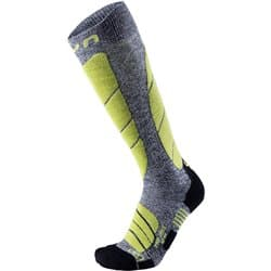 Носки UYN MS SKI PRO RACE MAN G730 Grey Melange/Green Lime Р:39-41