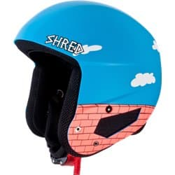 Шлем SHRED MEGA BRAIN BUCKET RH The Guy FIS Blue Rust Р:M-L