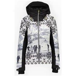Куртка женская CMP FIX HOOD 39W1646 18ZD BIANCO-NERO Р:36